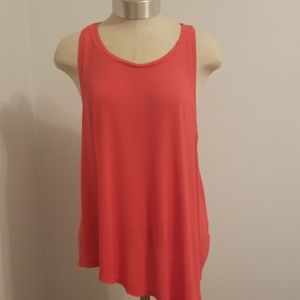 Super Soft Red Tank by Mudd SIze L